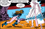 CAT WHAT ARE YOU WEARING WHY WOULD YOU WEAR THAT (Storm and Illyana: Magik #1)