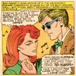 Actual photograph of Rachel and Miles at their 8th-grade graduation dance. (X-Men #32)