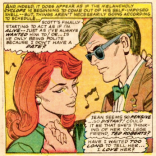 Actual photograph of Rachel and Miles at their 8th-grade graduation dance. (X-Men #32)
