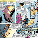 Donald Pierce knows he has standards to meet when it comes to villainous exposition. (Marvel Graphic Novel #4)