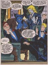 Andy Kubert x body language. (X-Men vol. 2 #30)