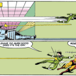 They really can't kick her off the team after that. (X-Men #173)