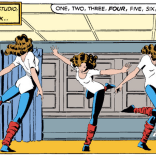 This isn't really relevant to the episode--we're just hoping someone will use it as the basis for a Kitty Pryde magical-girl transformation sequence. (X-Men #168)