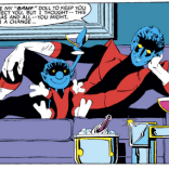 Before that one Hawkeye thing, there was this. (X-Men #168)