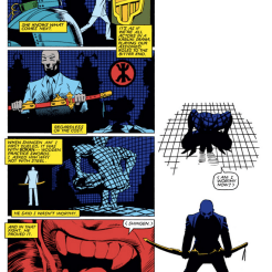 LOOK AT THAT NARRATIVE SYMMETRY. (Wolverine #4)