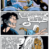 There is literally nothing that you can tell us that will convince us that these two ladies are not Totally Doin' It. (Uncanny X-Men #172)