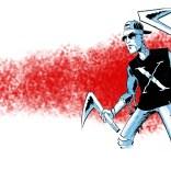 Adam X the X-Treme, redesigned by David Wynne!