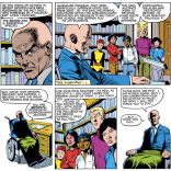 That one time Professor Xavier wasn't a jerk. (New Mutants #4)