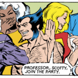 The rest of the X-Men are as delighted with Kitty's fairy tale as we are. (X-Men #153)