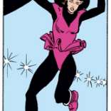 The fact that she still has her skates is really damn charming. (Kitty Pryde and Wolverine #1)