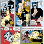 Wolverine is full of valuable life lessons, a remarkable number of which involve massive real-estate damage. (Uncanny X-Men #183)