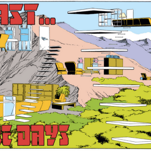 Forge's sweet, sweet pad. (Uncanny X-Men #184)