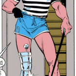 LOOK AT THIS DELIGHTFUL GENTLEMAN AND HIS DELIGHTFUL SHORTS (Uncanny X-Men #184)