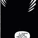 The Demon Bear is less a creature than a space: looming, protean, with very little detail save for its eyes, teeth, and claws. (New Mutants #19)
