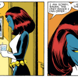 """What would Dracula do?"" (Uncanny X-Men #185)"