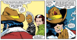 This is innocuous in context, until you realize he's sniffing a dead teenager in a morgue. (X-Men #179)