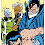 LOOK AT THIS FUCKING WIZARD LOOK AT HIS HAT LOOK AT HOW HE CLEARLY BELONGS ON THE SET OF FLASH GORDON (X-Men #179)