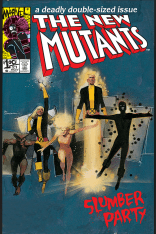 One of the best covers of all time. (New Mutants #21)