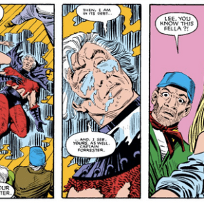 As it happens, Magneto's asteroid got knocked out of orbit by THE BEST SPACE-ROBOT TEENAGER EVER, but we'll get to that next episode. (Uncanny X-Men #187)