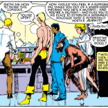 Doug Ramsey X-plains proportionate response. (New Mutants #21)