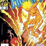 Magma's best superpower is her op-art form. (New Mutants #11)