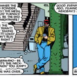 Lookit all those temporal references! (Uncanny X-Men #189)