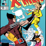 The scene depicted on the cover ABSOLUTELY DOES NOT TAKE PLACE AT ANY POINT DURING THIS ISSUE. Good god, Marvel. (X-Men #195)