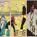 """Spider-Man's """"Yeah."""" in that last panel, though. (Marvel Team-Up Annual #6)"""