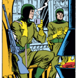 Phil and Tobe are the Harvey and Janet of Doom Minions. (Uncanny X-Men #147)