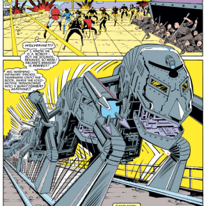 THIS TRAIN MONSTER IS SO GOOD. (Uncanny X-Men #197)