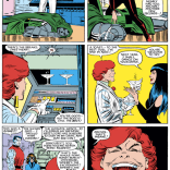 I kind of love Arcade and Miss Locke's original dynamic, before it got super screwed up and sex-murdery. (Uncanny X-Men #197)