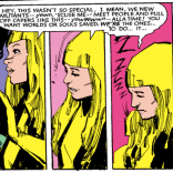 Illyana may be sleepy, but she's not wrong. (New Mutants #25)