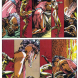 Motion and rhythm in a still medium. (Uncanny X-Men #198)