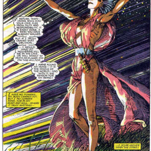 SERIOUSLY, THIS COMIC. THIS IS OUR STORM.(Uncanny X-Men #198)