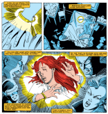 Emma Frost is the best evil narrator. (Firestar #2)