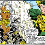 Marvel Asgard is basically the land of metal album covers. (New Mutants Special Edition #1)
