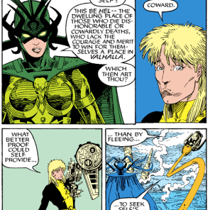 Warlock in a nutshell. (New Mutants Special Edition #1)