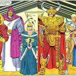 """We all got superpowers, but the important part is the AMAZING OUTFITS."" (X-Men/Alpha Flight vol. 1, #1)"