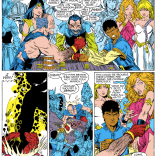 Bobby has found his element. (New Mutants Special Edition #1)