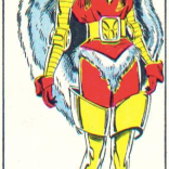 I know they all gave the powers back at the end, but I really don't see why Heather couldn't have remade this outfit and then worn it ALL THE TIME, because it is awesome. (X-Men/Alpha Flight vol. 1, #1)