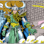Another Darkchylde panel, because this costume is just so damn good. (New Mutants Special Edition #1)