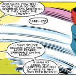 No matter how much you love your job, you will never love it as much as Mystique loves hers. (Uncanny X-Men #199)