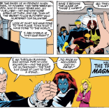Magneto's speech here is important, but what you're really looking at here is his well-tailored suit. You'd expect him to show up to his trial in something like this, right? (Uncanny X-Men #199)