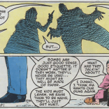 """Nocenti is many things as a writer, but """"subtle"""" is probably not one of them. (Longshot #4)"""