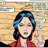 """The counsels for the prosecution and defense have been selected based on the quality of their Joan Rivers impressions."" (Uncanny X-Men #200)"