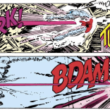 ZARK! TUNCH! BDAM! THIS LETTERING, Y'ALL. (Uncanny X-Men #200)
