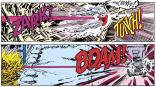 ZARK! TUNCH! BDAM! THIS LETTERING, Y'ALL. (Uncanny X-Men #200)