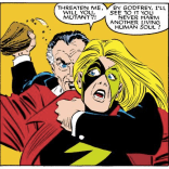 Sir James Jaspers: total dick. (Uncanny X-Men #200)