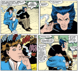 KITTY'S FACE. (Uncanny X-Men #196)