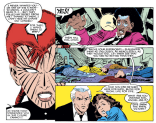 Given the parallels between Rachel Summers and Magneto's backgrounds, it would have been really cool to see this relationship developed further. (Uncanny X-Men #196)